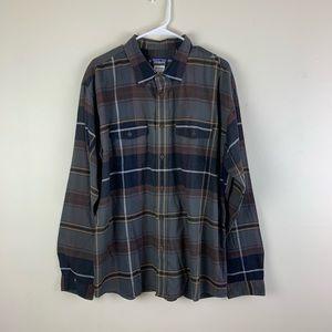 Patagonia Plaid Organic Cotton Button Down Shirt